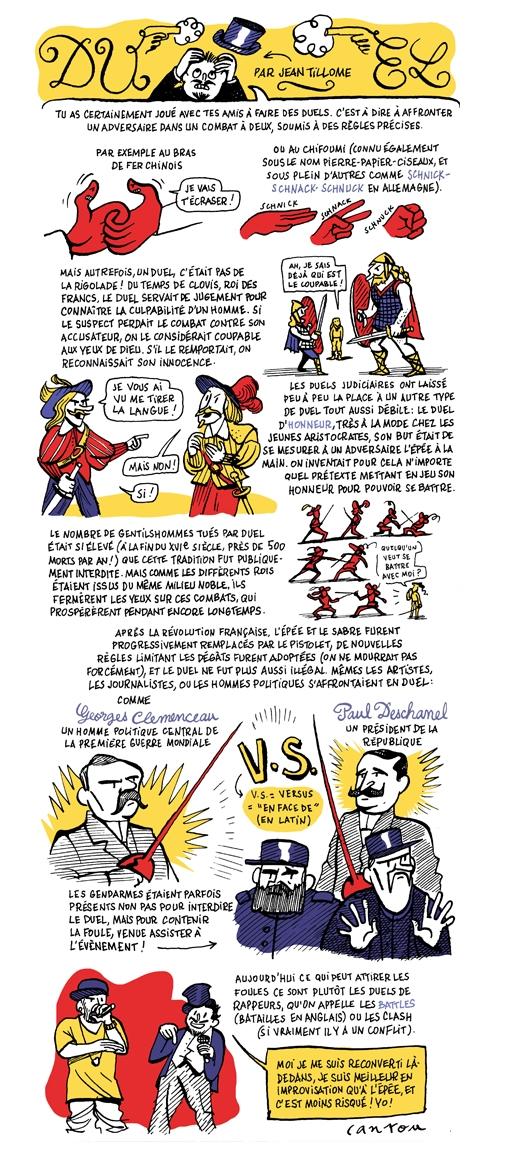 """<p align=""""center"""">Biscoto #14, """"La bagarre"""", mars 2014.</p>"""