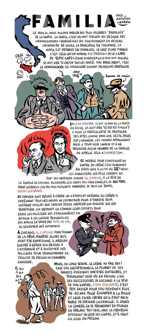 """<p align=""""center"""">Biscoto #4, """"La Famille"""", avril 2013.</p><br/>"""